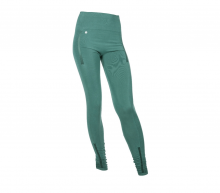 Run and Relax Yoga Tights - Muted Green